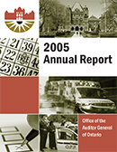 2005 Annual Report: Environet: Follow-Up Report