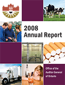 2008 Annual Report: Forest Fire Management: Follow-Up Report