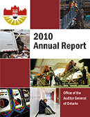 2010 Annual Report: Non-hazardous Waste Disposal and Diversion