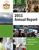 2011 Annual Report: Government User Fees: Follow-Up Report