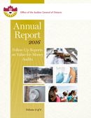 2016 Annual Report: Source Water Protection: Follow-Up Report