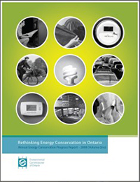 2009 Annual Energy Conservation Progress Report, Volume 1