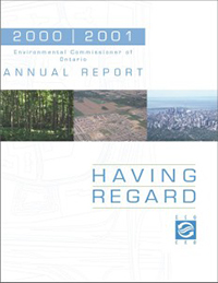 2000/2001 Annual Environmental Protection Report
