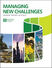2013/2014 Annual Environmental Protection Report