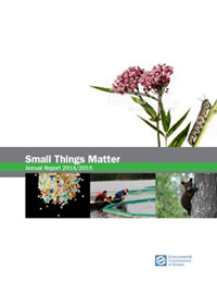 2014/2015 Annual Environmental Protection Report: Small Things Matter