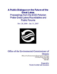 A Public Dialogue on the Future of the Great Lakes