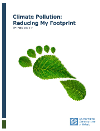 Climate Pollution: Reducing My Footprint