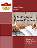 Special Report on OLG's Employee Expense Practices