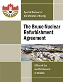 Special Review on The Bruce Power Refurbishment Agreement