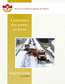 Special Report on Winter Highway Maintenance